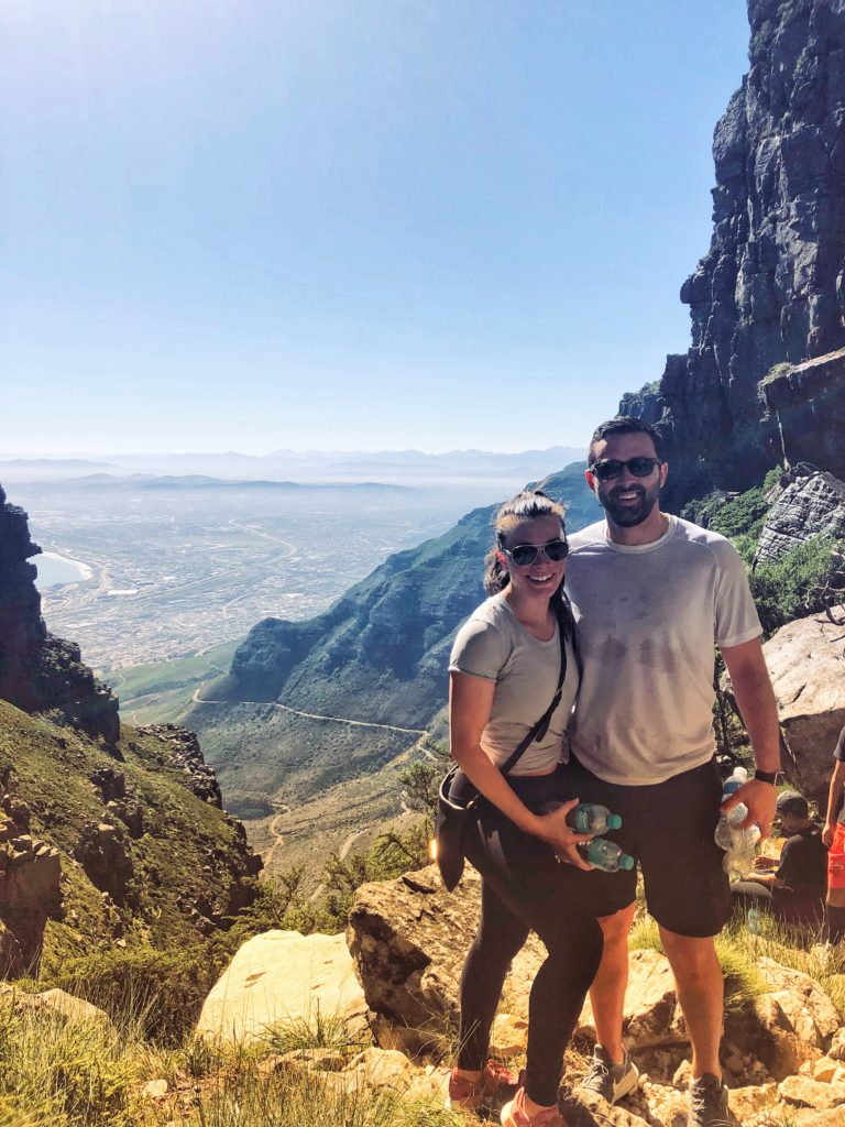 Add hiking up Table Mountain to your wish list and ill include it in your Private Tour of cape Town